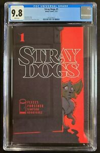 Stray Dogs #1 Cover A CGC 9.8 1st Print