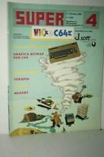RIVISTA SUPER VIC & C64 NUMERO 4 OTTOBRE 1984 USATA BUONO ED ITA FR1 54753