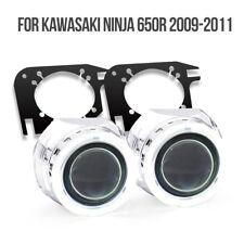 KT Angel Eye HID Projector Lens for Kawasaki Ninja 650R 2009 2010 2011 Headlight