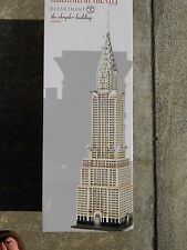 DEPT 56 CHRISTMAS IN THE CITY THE CHRYSLER BUILDING NIB *Still Sealed*