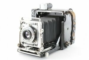 Excellent++ Graflex SPEED GRAPHIC 4x5 Camera w/ 101mm Lens from Japan