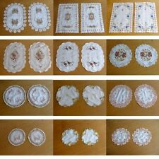 Rectangular Table Doilies