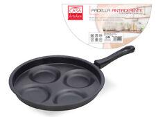 Max Padella Antiaderente Con 4 Cerchi Per Cuocere Pancake Diametro 26 cm