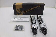Progressive Suspension - 440-4068C - 440 Series 12in. Shocks, Chrome Harley