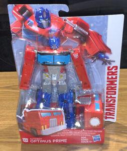 "2017 Hasbro Transformers Autobot 7"" Optimus Prime Action Figure Toy New DAMAGED"