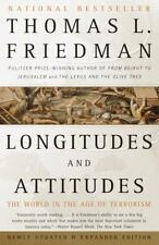 LONGITUDES & ATTITUDES by Thomas Friedman 2003 World in Age of Terrorism