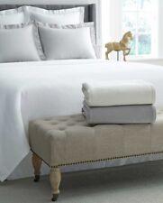 Sferra Corino King Blanket - White