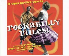 CD ROCKABILLY RULES	16 good rocking treacks	MINT (B4890)