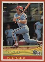 1984 Donruss #61 Pete Rose EX-EXMint+ Factory Set Break Philadelphia Phillies