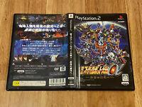 JAPAN Ver PS2 PlayStation 2,Super Robot Wars Taisen Alpha 3