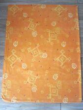 Parure Housse de couette 4 pièces Orange/Jaune 100% Coton 200 x 200