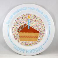 """Wonderfully Made"" Birthday Plate Brand NEW Psalm 139:13-14 BPA-Free & Non-Break"