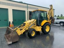 2000 New Holland 575e Tractor Loader Backhoe 4x4 Cab Ext Clean Work Ready