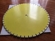 30 inch Professional Diamond Blade cutting Wet Concrete/Overlay For High Power M