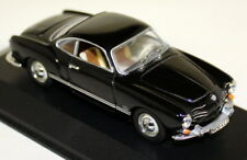 Minichamps 1/43 Scale 5000 Volkswagen Karmann Ghia Coupe Black Diecast Model Car