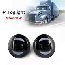 For 04-18 Volvo VHD VNL Bumper Fog Lights Driving Lamps 4 inch LED Fog Light 2*