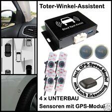 Toter-Winkel-Assistent  mit 4 x High-Class-UNTERBAU-Sensoren & GPS-Speed-Modul