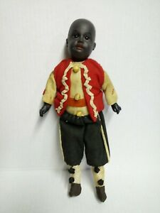 "12"" BEAUTIFUL GEBRUDER KUHNLENZ DOLL W/BISQUE FACE."