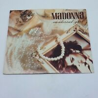 """Madonna Material Girl 12"""" Single 45 RPM (1985) 0-20304 VG+ cover VG+"""