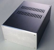 Full Aluminum Enclosure / mini AMP case/power amplifier box/ chassis