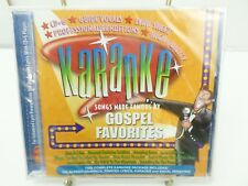 KARAOKE GOSPEL FAVORITES  BCI  CD+G player needed new sealed