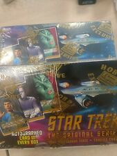 Star Trek Original Series 3 Three sealed trading card box