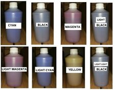 1000 ML BOTTLE DYE SUBLIMATION INK EPSON ROLAND MUTOH MIMAKI 8 COLORS AVAILABLE