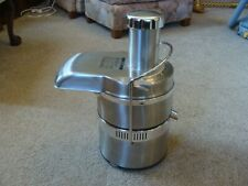 Jack Lalanne Juicer Stainless Power Juicer Pro Fruit Vegetable Extractor Ex Cond