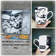 NIB Official Disney Star Wars Stormtrooper Lucas Films Ceramic Coffee Mug Cup
