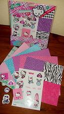 Hello Kitty Scrapbook Sport--Sticker-3D Sticker--Karten Basteln--Scrapbookpapier