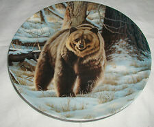 """""""The Grizzly Bear"""" Plate By Paul Krapf Wild And Free-Canada'S Big Game Coa"""