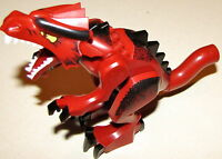 LEGO RED FANTASY DRAGON MONSTER WITHOUT WINGS ANIMAL