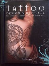 Tattoo Design Directory-Book Essential Reference for Body Art 224pages spiral HC