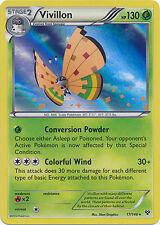 Pokemon XY Vivillon 17/146 Meadow Holo Rare Card (Orange)