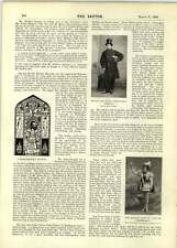 1899 Fred French Miss Blanche Doyle Indian Fakir