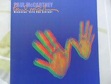 "Paul Mac Cartney, livret collector ""Wingspan,  hits and history"", rare"