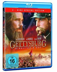 Gettysburg (Director's Cut)[2 Blu-ray's/NEU/OVP] vier Stunden langes Epos