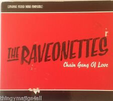 RARE! The Raveonettes Chain Gang Of Love 5 Track Sampler Promotional CD ALBUM
