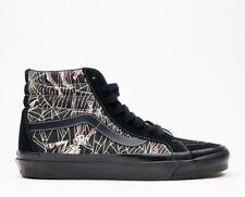 Men Vans SK8 HI 38 Dx Skate Shoes Size 9 Anaheim Factory OG Black Spider Web
