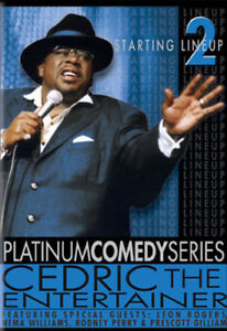 Cedric The Entertainer - Starting Line Up Vol. 2  - DVD - STAND UP COMEDY RARE