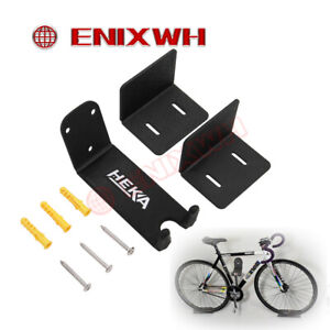 Upgrade Bike Bicycle Cycling Pedal Wall Mount Storage Hanger Stand