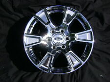 "15-16 18"" 18x7.5 FORD F150 Expedition Chrome Factory OEM Rim Wheel & Cap 3998"