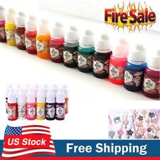 US 13 Bottles 10g Epoxy UV Resin Coloring Dye Colorant Pigment Mix Color DIY Set