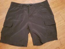 Kathmandu Shorts Black Hiking Lightweight Size 8