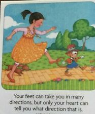 Mary Engelbreit Handmade Magnets-Your Feet Can Take You