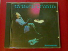 THE BEST OF RY COODER CD 13T WHY DON'T YOU TRY ME TONIGHT (1986)