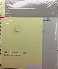 HP 53131A/132A/181A 225MHz Counter Assembly-Level Service Guide 53131-90039 NEW