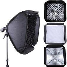 "PRO 24""/60cm Softbox +Honeycomb Grid For SpeedLight Flash Bowens/Elinchrom Mount"