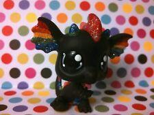 Rockin' Rainbow Dragon * OOAK Custom Hand Painted Littlest Pet Shop