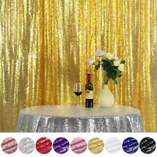 Sparkly Sequin Wedding Backdrop Curtain Photo Booth Background Event Party Decor